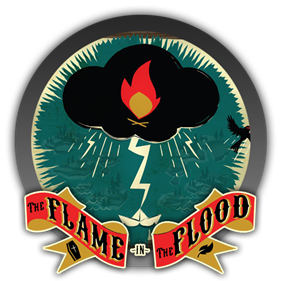 The Flame in the Flood - Clear Logo