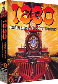 1830: Railroads and Robber Barons - Box - 3D