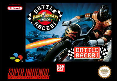 Power Rangers Zeo: Battle Racers - Box - Front