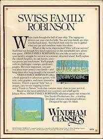 Swiss Family Robinson - Box - Back