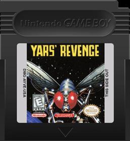 Yars' Revenge - Fanart - Cart - Front