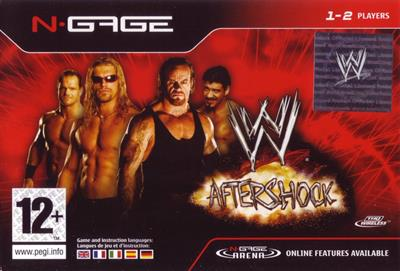 WWE: Aftershock - Box - Front