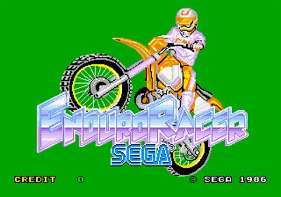 Enduro Racer - Screenshot - Game Title