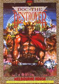 Doc the Destroyer - Advertisement Flyer - Front