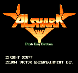 Alshark - Screenshot - Game Title
