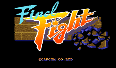 Final Fight - Screenshot - Game Title