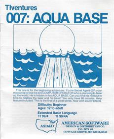 007: Aqua Base