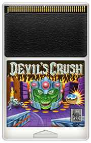Devil's Crush - Fanart - Cart - Front