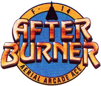 After Burner - Clear Logo