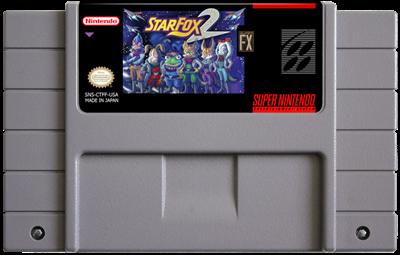 Star Fox 2 - Fanart - Cart - Front