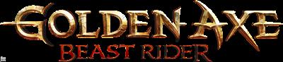Golden Axe: Beast Rider - Clear Logo
