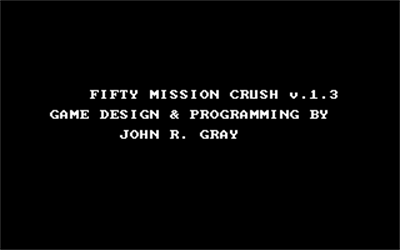 50 Mission Crush - Screenshot - Game Title