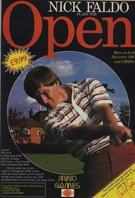Open: Golfing Royal St. George's - Advertisement Flyer - Front