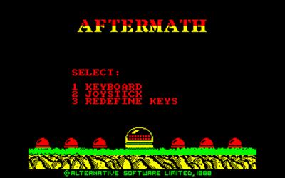 Aftermath - Screenshot - Game Title