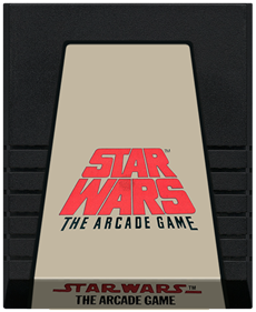 Star Wars: The Arcade Game - Cart - Front