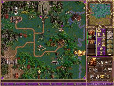 Heroes Chronicles: Warlords of the Wastelands - Screenshot - Gameplay