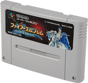 Fire Emblem: Seisen no Keifu - Cart - 3D