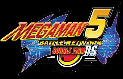 Mega Man Battle Network 5: Double Team DS - Clear Logo