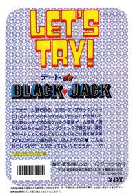 Date de Blackjack - Box - Back