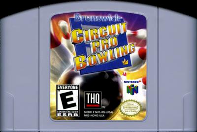 Brunswick Circuit Pro Bowling - Cart - Front