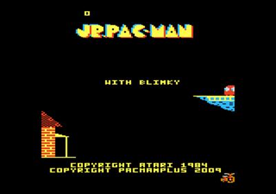 Jr. Pac-Man - Screenshot - Game Title