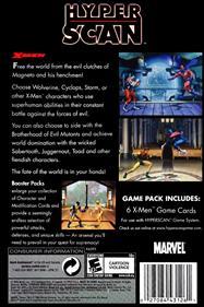 X-Men - Box - Back