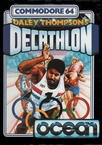 Daley Thompson's Decathlon - Box - Front