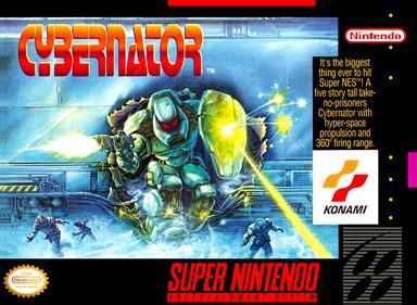 Cybernator - Box - Front