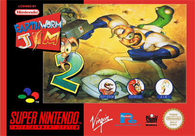Earthworm Jim 2 - Box - Front