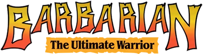 Barbarian: The Ultimate Warrior - Clear Logo