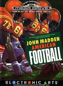 John Madden Football - Box - Front