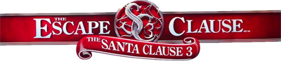 The Santa Clause 3: The Escape Clause - Clear Logo