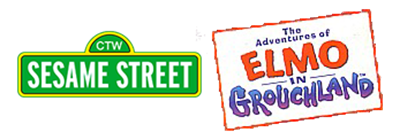 Sesame Street: The Adventures of Elmo in Grouchland - Clear Logo