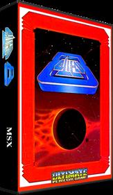 Alien 8 - Box - 3D
