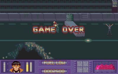 Akira - Screenshot - Game Over