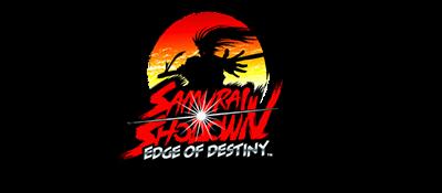 Samurai Shodown: Edge of Destiny - Clear Logo