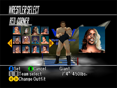 WCW Vs. nWo: World Tour - Screenshot - Game Select