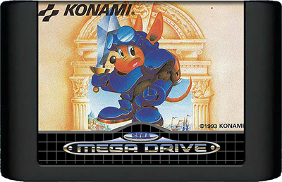 Rocket Knight Adventures - Cart - Front