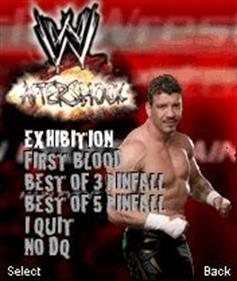 WWE: Aftershock - Screenshot - Game Title