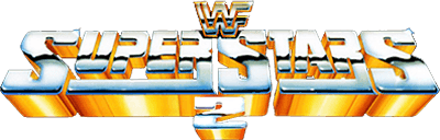 WWF Superstars 2 - Clear Logo