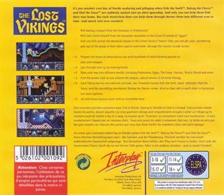 The Lost Vikings - Box - Back