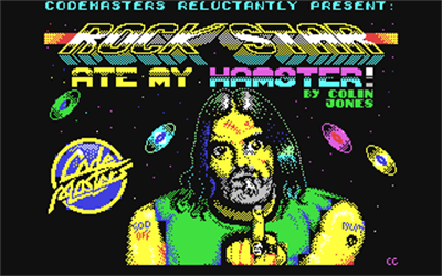 Rock Star Ate My Hamster - Screenshot - Game Title