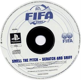 FIFA 2001: Major League Soccer - Disc