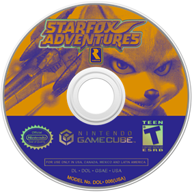 Star Fox Adventures - Disc