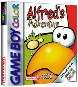 Alfred's Adventure - Box - 3D