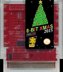 8-Bit XMAS 2015 - Cart - Front