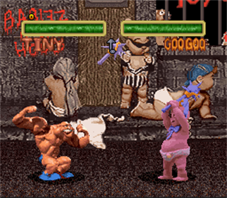 C2 Judgment Clay: Clay Fighter 2 - Screenshot - Gameplay