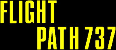 Flight Path 737 - Clear Logo