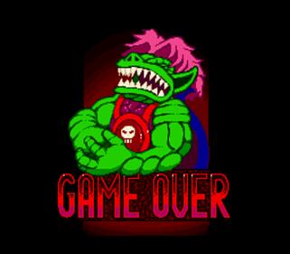Stone Protectors - Screenshot - Game Over