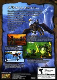 World of Warcraft - Box - Back